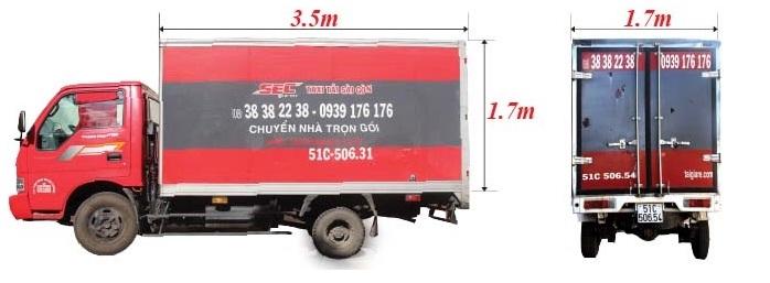 thuê xe tải 1,4 tấn