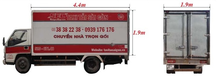 thuê xe tải 1 tấn 9