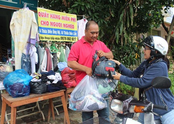 Thanh lý đồ chuyển nhà tặng cho người nghèo