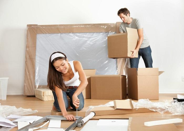 Đóng gói đồ chuyển nhà