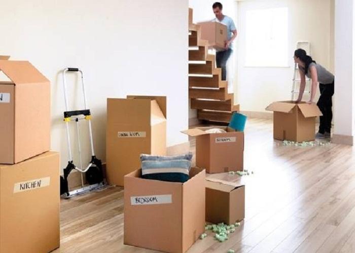 Ghi chú thùng đồ khi chuyển nhà