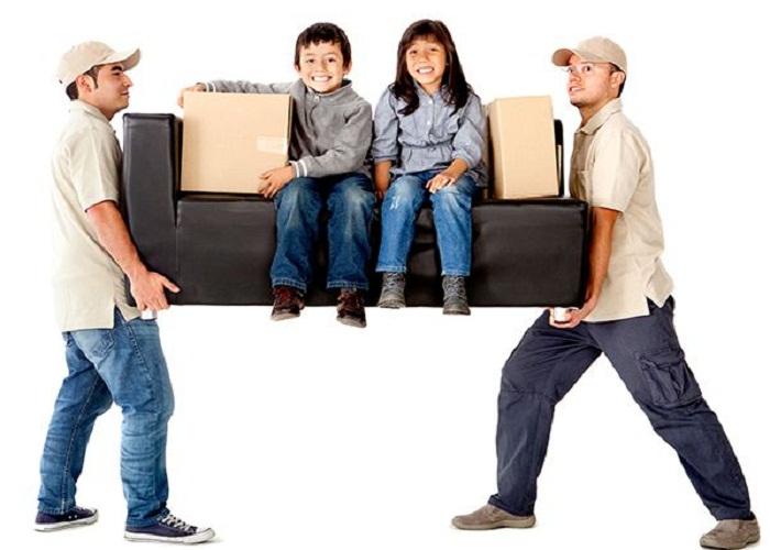 Sử dụng dịch vụ chuyển nhà khi gia đình có trẻ nhỏ