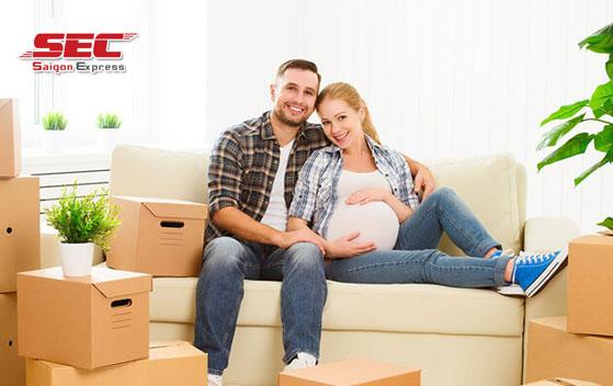chuyển nhà khi mang thai