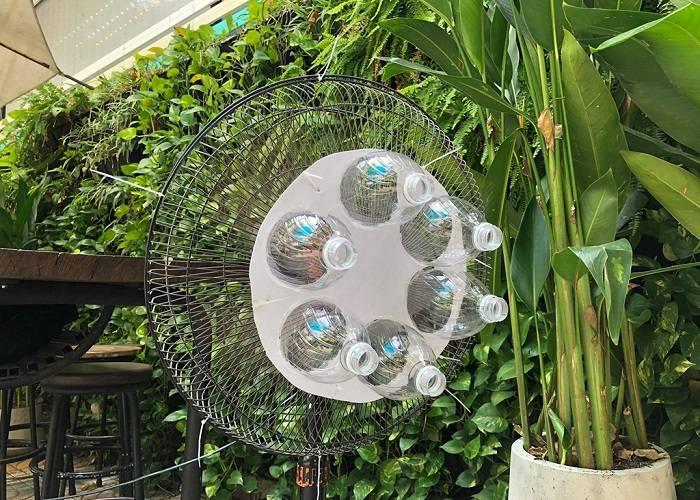 Tái chế chai nhựa làm eco cooler