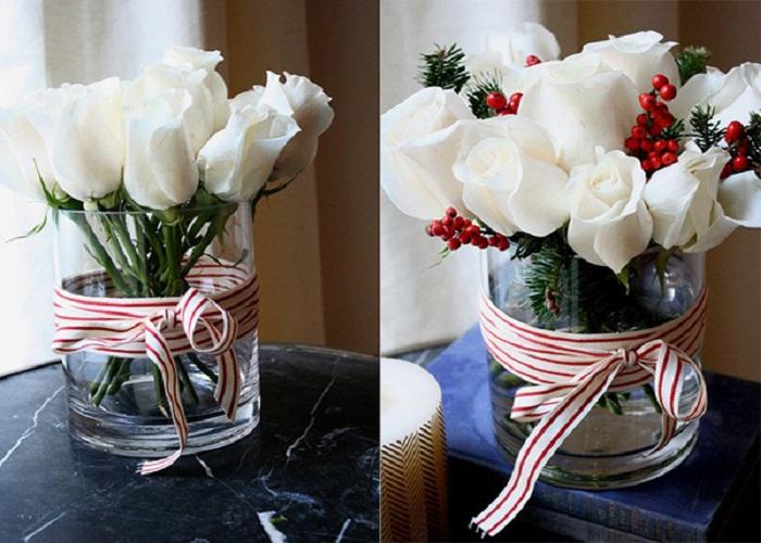 hoa hồng để bàn làm việc tuổi tý