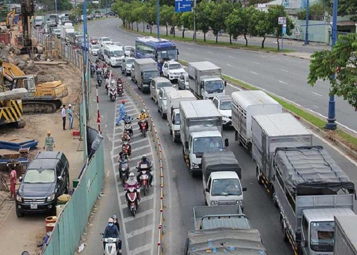 Image result for Những nguyên nhân tắt đường tại Thành Phố Hồ Chí Minh