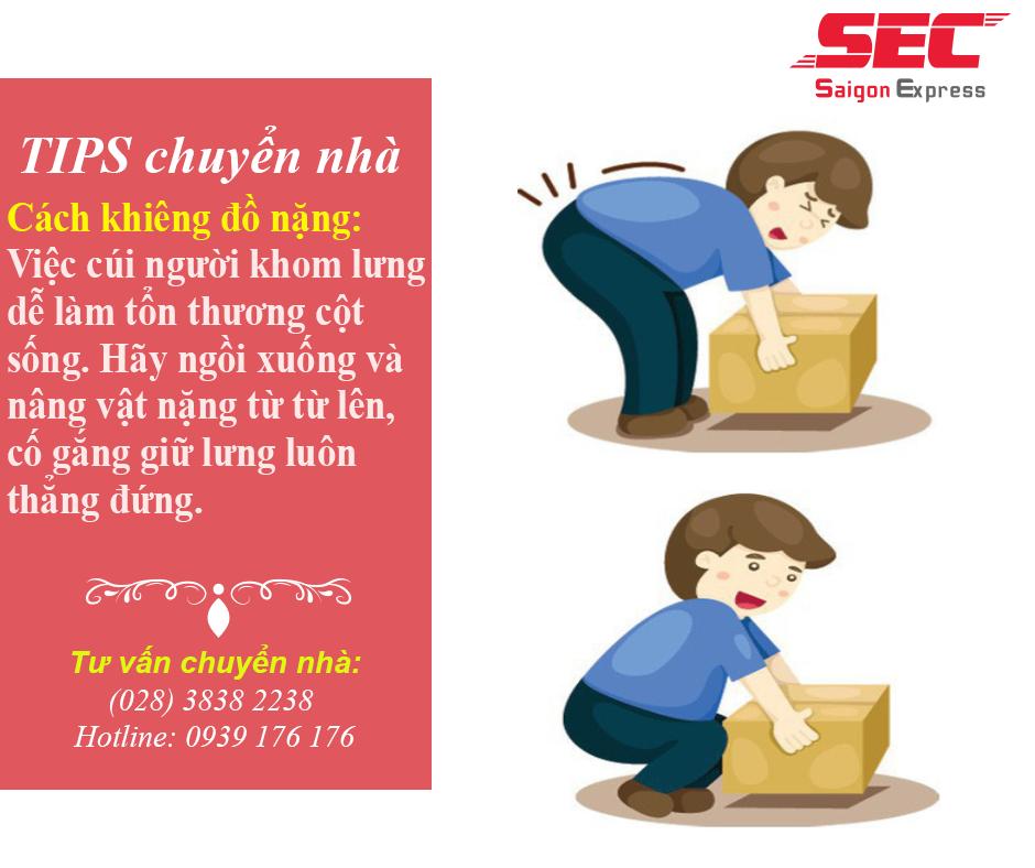 Cách chuyển đồ nội thất an toàn