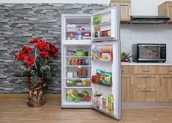 vận chuyển tủ lạnh nằm ngang có được không