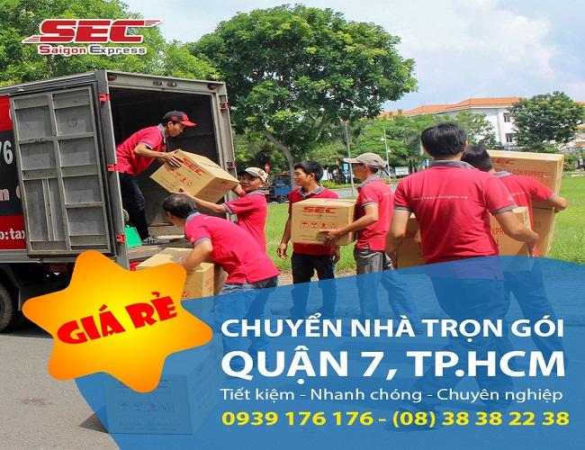 dịch vụ chuyển nhà quận 7