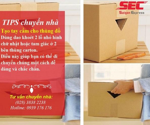 thùng carton chuyển nhà tips